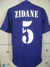 FRANCE ZIDANE REAL MADRID SPAIN 2001 3RD FOOTBALL SOCCER JERSEY SHIRT M 90s VTG
