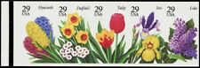 2764c, Mint NH 29¢ Flowers Imperforate Booklet Pane of 5 ERROR - Stuart Katz