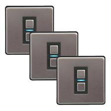 LightwaveRF 1 Gang Smart Series Light Switch Dimmers - Alexa Compatible - Three