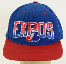Montreal Expos Cooperstown MLB Red Bill Blue Baseball Hat Cap Adjustable