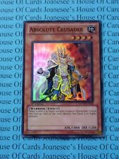 Absolute Crusader GENF-EN036 Super Rare Yu-Gi-Oh Card 1st Edition New