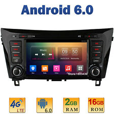 8'' 2GB RAM 4G Android 6.0 Car DVD Player Radio GPS For Nissan Qashqai X-Trail
