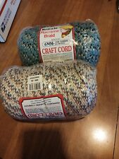 Lot Number 22. Macrame Braid 6 Mm One Red White And Blue In The Second One Clown