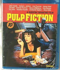 Quentin Tarantino PULP FICTION Blu-Ray Disc Widescreen
