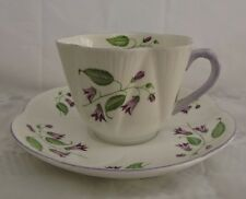 Vintage Shelley Large Teacup and Saucer - Dainty Design