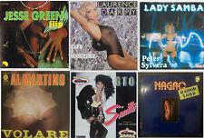 Lot de six 45 tours (Graphisme Originale !), variétés des années 80 !