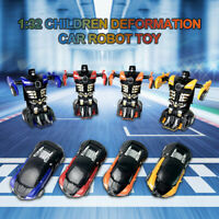 1:32 Pull Back The Collision Car Children Deformation Car Robot Toy For Kids AU