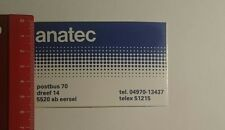 Aufkleber/Sticker: anatec (230117138)