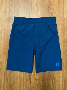 NWOT Hurley Little Boys Swim Trunks Board Shorts Water Active Royal Size 7