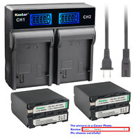 Kastar LCD Rapid Charger Battery for Sony NPF950 NP-F960 NP-F970 NP-F990 PRO