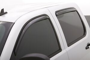 LUND 184515 VENTVISOR ELITE - 4 PC Side Window Vent Deflectors; Smoke