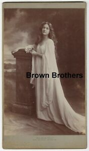 1900s Broadway & Silent Film Actress Maude Fealy Oversized Cabinet Photo - BB