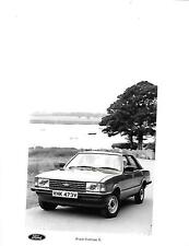 FORD CORTINA 'L' MODEL CAR PRESS PHOTO 'Brochure Connected'