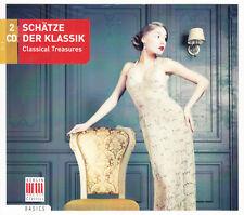 Schätze der Klassik 2 CD neu in Folie Sampler Berlin Classics OVP Hamburg Mozart