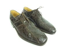 GRAVATI per DAVIDS Brown Dress Shoes Hand Made in Italy Sz US 9 EUR 43 [A91]