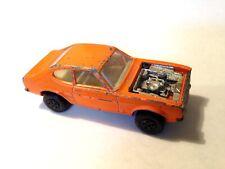 Vintage 1970 Matchbox Superfast Ford Capri - Bright Orange