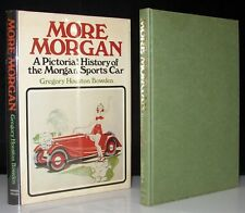 MORE MORGAN SPORTS CAR PICTORIAL HISTORY 1ST US SIGNED BY PETER MORGAN AUTOMAKER