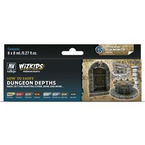 WizKids Premium set by Vallejo: Dungeon Depths