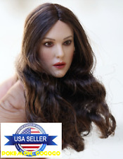 1/6 Monica Bellucci PT005 Head Sculpt PALE For Hot Toys Phicen Female Figure USA