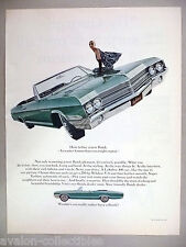 Buick LeSabre 400 Convertible PRINT AD - 1965