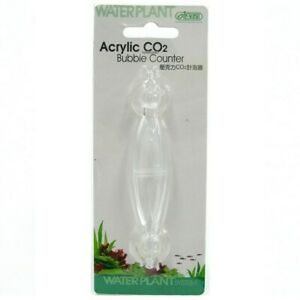 Ista Mini Acrylic CO2 Bubble Counter for Planted Freshwater Aquariums Tank