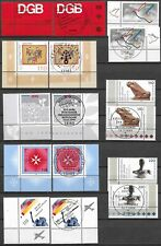 "GERMANY (BUND) - 1999 MNH/MNH (FDC) ""Complete Corner Set"" Stamps Collection (1)"