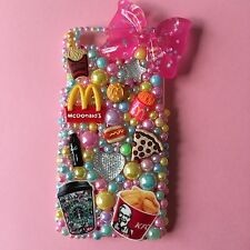 Fast Food Panna Telefono Custodia iPhone 6/6s PLUS KAWAII Bling Girly