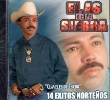 El As De La Sierra Claveles de Enero 14 Exitos Nortenos CD New Sealed