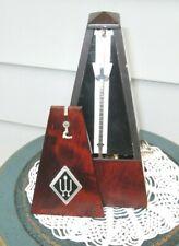 vintage Wittner Wood Metronome Key wind