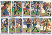 1992 Regina NSW Rugby League NEWCASTLE KNIGHTS Team Set (11 Cards) ++++