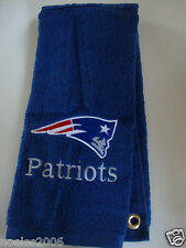 Personalized Embroidered Golf Bowling Workout Towel New England Patriots