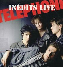 "TELEPHONE ""Inédits live"" (CD Single) 1993 -RARE-"