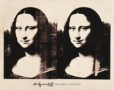 ANDY WARHOL - Double Mona Lisa, 1963 - POP ART PRINT 22x28 Poster