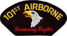 101st AIRBORNE - SCREAMING EAGLES - IRON ON PATCH