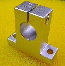 2 PCS SK20 (20mm) Metal Linear Rail Shaft Support Unit FOR XYZ Table CNC Route
