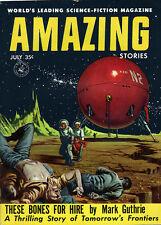 Amazing Stories ED VALIGURSKY COVER Mark Guthrie TOM BEECHAM Randall Garrett