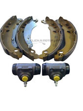 PEUGEOT 206 1998-2006 REAR BRAKE SHOES & 2 WHEEL CYLINDERS ONLY FOR NO ABS CHECK
