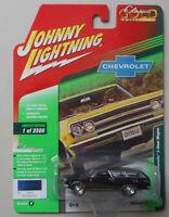 1965 Danube Blue Chevy Chevelle Wagon JOHNNY LIGHTNING DIE-CAST 1:64