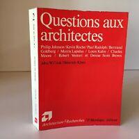 Cook Klotz Preguntas 2 a Las Architects Arquitectura Calco Mardaga