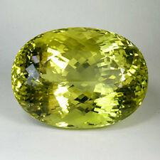 267.22 ct GIT CERTIFIED ! AWESOME LUSTROUS - RARE NATURAL YELLOW CITRINE  !