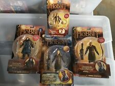 The Hobbit An Unexpected Journey Legolas  Legalos Var Thorin and Bilbo Figures