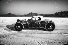 TEN 12x18in Man Cave Posters Bonneville Salt Flats Vintage Hotrod Garage Art