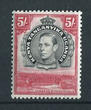 Kenya Uganda Tanganyika kgvi 1938-54 5/- Nero & Carmine SG148 vlmm
