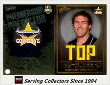 2011 NRL Strike Top Tryscorer TS9 Ashley Graham (Cowboys) + Predictor Card