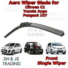 "(05-14) Peugeot 107 / Toyota Aygo / Citroen C1 Aero Wiper Blade Flat Front 26"""