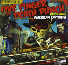 American Capitalist - One Finger Death Punch [Explicit] [CD, NEW] FREE SHIPPING
