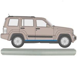 Jeep Grand Cherokee 1991-1999 Panel De Reparación De Repisa Rocker Panel//DERECHA = IZQUIERDA