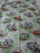 Vintage Thomas Tank Curtains 63'' wide 54''drop 3'' heading 'needs restringing'