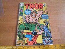 Thor 184 Bronze Age 1970's comic VG-