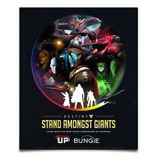 Destiny Stand Amongst Giants Poster 18x24 Limited Edition (Bungie) Rise of Iron